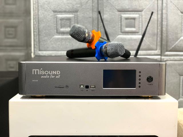 đẩy liền vang kèm micro Misound MS-100